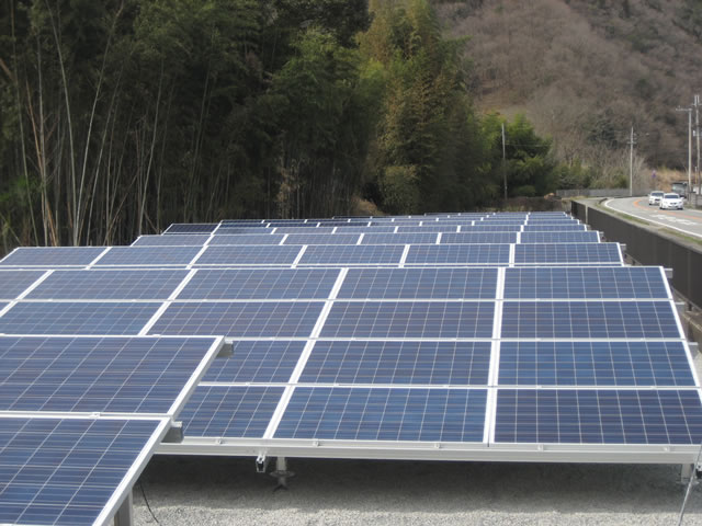 【写真】太陽光発電
